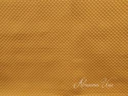 Muselina acolchada mostaza